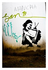 18 (Dirio da Foto) Tags: street floripa brazil art graffiti stencil florianpolis skate csc grafite mumu comando carianos