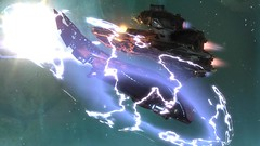 Halo Reach_Saber vs Seraph (Ravzem) Tags: energy fighter space halo sabre saber shield reach campaign caza covenant seraph unsc longnightofsolace anchor9