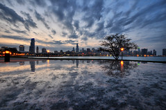 Chicago and the Super Fantastic Clouds (Seth Oliver Photographic Art) Tags: nightphotography chicago clouds buildings reflections iso200 illinois nikon midwest skyscrapers searstower cities cityscapes lakemichigan nightshots bluehour southloop beautifulclouds pinoy johnhancockbuilding nightscapes sheddaquarium chicagoskyline urbanscapes secondcity adlerplanetarium windycity longexposures chicagoist cityskylines movingclouds d90 nightexposures cityofbigshoulders 6secondsexposure granitereflections manualmodeexposure willistower setholiver1 bluehourphotography aperturef220 circularpolarizers 1024mmtamronuwalens timedelaytriggeredshot vrmodeoff camerasetongranitesurface