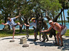 Hot Fun in the Summertime! (TW Collins) Tags: sculpture goofy fun florida sarasota silliness flickrmeetup bigkids islandpark theateamrallyingforaurelia boobberets