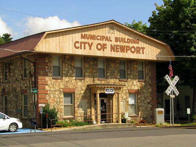 Newport, TN Municipal Building