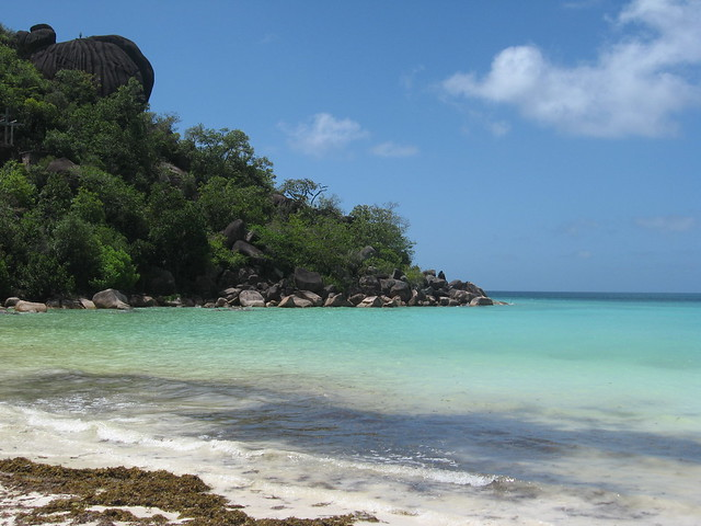 Anse Volbert en las Seychelles