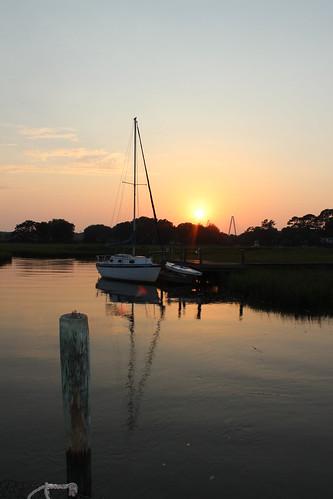 sailboat dock sailing southcarolina charleston