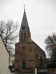 1867 Magdeburg neogotische katholische Kirche St. Marien in Backstein von Arnold Gldenpfennig Rottersdorfer Strae 9 in 39112 Sudenburg (Bergfels) Tags: architekturfhrer bergfel