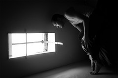 Creepers (Simon McCheung) Tags: light portrait white black window face self weird scary bed room surreal creepy horror balance 365 creepers selfie mccheung