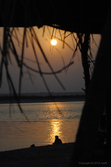 Beautiful Crime [Explored] (Ahsan Ax) Tags: pakistan sunset silhouette mani ax ahsan sialkot headmarala ax46