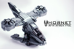 UNSC Hornet Version 3 | High Left (BrickTechStudios) Tags: new 2 3 brick alexandria star 1 tv marine order jackal with lego 4 ghost halo banshee architect part elite link hunter hornet wars reach studios combat update grunt brute spartan mongoose evolved wraith moc odst