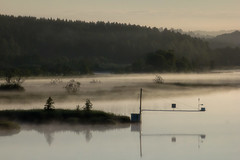 Through the mist (Daniel Sjstrm) Tags: summer sky color nature landscape photo sweden daniel sverige normal bohusln kunglv bohus sjstrm canon550d tamron70300tele