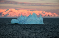 "Dawn Iceberg in front of Alexander Island • <a style=""font-size:0.8em;"" href=""http://www.flickr.com/photos/16564562@N02/7643893698/"" target=""_blank"">View on Flickr</a>"