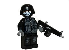 AA12 paint job (SpontaneousRaptor) Tags: lego shotgun cod callofduty specter mw2 mw3 aa12 brickarms brickarmsmod