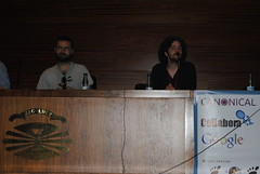 Guadec Dia 3 (Ana _Rey) Tags: gnome talk conference guadec guadec2012