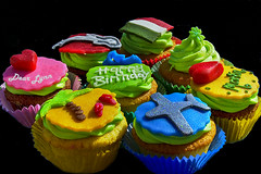 One for me, one for you  and you.. (scorpion (13)) Tags: party summer colour cake fun royal cupcake seen find brithday