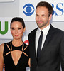 Lucy Liu and Jonny Lee Miller CBS Showtime's CW Summer 2012 Press Tour at the Beverly Hilton Hotel - Arrivals Los Angeles, California