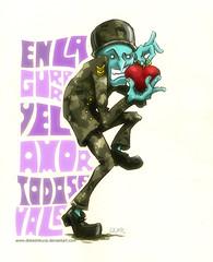 All is fair in love and war (DoKe...) Tags: en love se la is war all y amor guerra fair el vale todo
