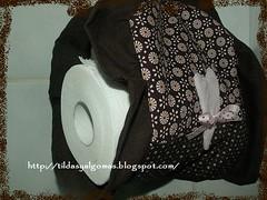 SUPORTE PAPEL (ednapatchearte) Tags: marca tilda jogo banheiro produtos higienico ppapel tildasuporte