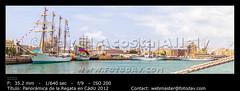 Panormica de la Regata en Cdiz 2012 (__Viledevil__) Tags: barcos cadiz tallships 2012 regata veleros