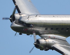 Dakota Norway Douglas DC-3C LN-WND - Flying Legends Airshow 2021 Duxford (Rob Lovesey) Tags: norway flying airshow legends duxford douglas dakota 2021 dc3c lnwnd