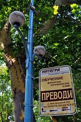Translation Service Needed to Translate the Sign (Funky Tee) Tags: nikon europe european bulgaria eastern plovdiv d5000 unionsigntranslationservice