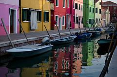 A colorful world (Immacolata Giordano) Tags: italy colors italia venezia colori riflessi burano reflectiones nikond5100