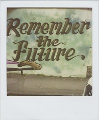 Remember (Lizzie Staley) Tags: art film bristol polaroid sx70 graffiti future 779