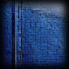 Blue Tiles squared resized (Andrea Kennard) Tags: