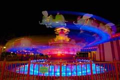 Escape Velocity (Don Sullivan) Tags: world lowlight circus magic flash dumbo kingdom disney waltdisneyworld walt storybook magickingdom storybookcircus canonef1635mmf28lii canoneos5dmarkiii