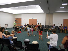 Drumming Circle - Summer 2012 (Clearwater Public Library System Photos) Tags: drumcircle clearwaterpubliclibrarysystem clearwatermainlibrary givingtreemusic summer2012