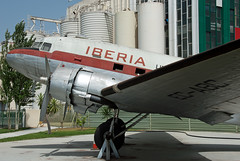EC-CPO DC-3 (C-47D) (Irish251) Tags: classic de airport spain y espana museo douglas dc3 aeropuerto malaga aereo iberia c47 transporte agp aeropuertos lemg c47d eccpo