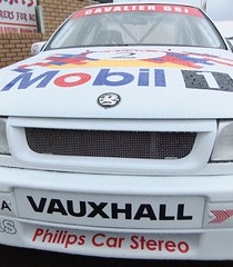 Ex-John Cleland Vauxhall Cavalier (IainW81) Tags: car dave john scotland championship fife cook jim super racing british cavalier 1992 touring 1990 services cleland vauxhall btcc knockhill tourer gsi pocklington dcrs