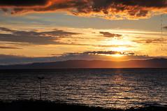 Vikhammer Skies III (PuffinArt) Tags: blue sunset red sky orange water colors norway clouds nikon dusk prdosol puffinart nikkor 18200 vr pds d300 vandamalvig vikhammer