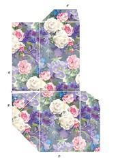 Cardbox - Floral - part b (Charlotte Clarke Geier) Tags: computer print crafts digitalart computercrafts