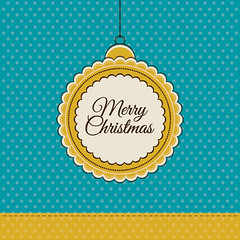 Retro Christmas Card (DryIcons) Tags: christmas holiday vintage background retro card merrychristmas vector