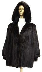 L43. Deep Brown Mink Coat