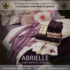 Inaugural Ad (HFoxBirdDesign) Tags: ads advertising soap bath purple room president towels guest inauguration bedding abrielle vision:text=071 vision:outdoor=0825