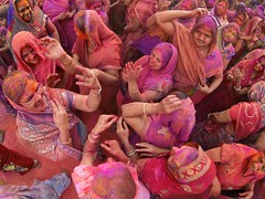 Holi 2014 (Hyderabad) - 28 (Rajesh_India) Tags: street india colour festival colorful traditions hyderabad holi