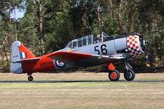 Harvard VH-NAH 4 (joolsgriff) Tags: harvard australia airshow t6 snj 2014 northamerican rnzaf tyabb vhnah nz1056