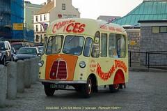 Vintage Van - Morris 'J' type [LDK528] 110410 Plymouth [jg] (maljoe) Tags: morris vintagevan morrisjtype
