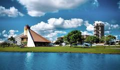 Lago Municipal de Toledo (Ricardo Mercadante) Tags: brazil paran brasil lago paisagem toledo