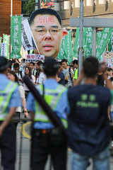 5-15-2016_Demonstration_MPA_11 (macauphotoagency) Tags: china new money streets outdoors university chief police government block macau demonstrations executive sai donations association chui macao on may15 protestants policeforce 5152016 newmacauassociation insatisfation