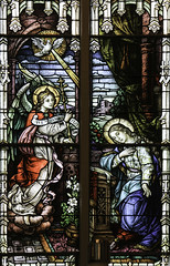 Dominicans and Books  Our Lady Annunciate (Lawrence OP) Tags: reading book dominican kentucky stainedglass study springfield annunciation biblical ourlady blessedvirginmary stgabriel stroses