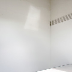 white 8 (godelieve b) Tags: white abstract lines wall square minimal inside mur blanc intrieur carr diagonale