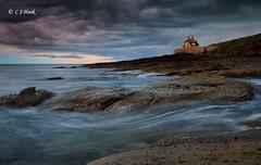 Sunset Storm (carmellestewarthook) Tags: house seascape bath northumberland lee hook howick 70d