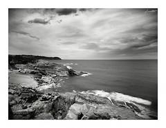 Costa (Jaime Martin Fotografia) Tags: sea bw blancoynegro nature monocromo mar asturias