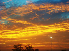 0422010sunsetLMB (lauren_michelle_byckowski) Tags: sunset sky sunlight nature clouds outdoors colorful bright sunsets multicolored