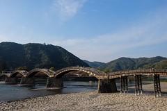 Kintaikyo IV (Douguerreotype) Tags: bridge water japan architecture river arch iwakuni kintaikyo