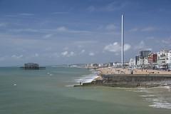 Brighton And Hove Seafront (grahambrown1965) Tags: sea west water sussex seaside brighton pentax westpier seafront groyne groynes i360 1650mm smcpentaxda1650mmf28edalifsdm brightoni360 k3ii ricohimagingcompanyltdpentaxk3ii britishairwaysi360 pentaaxk3ii