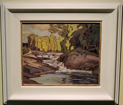 Rapids and rocks (Will S.) Tags: ontario canada art gallery artgallery canadian trunks emilycarr mypics kleinburg aboriginalart canadiana groupofseven tomthomson mcmichael mcmichaelcanadianartcollection mcmichaelgallery