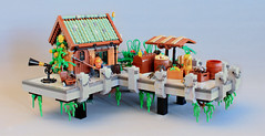 The Harbor (O0ger) Tags: lego moc aether