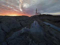 Faro de Favritx (Ch3micals) Tags: sol water landscape faro amanecer menorca
