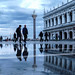 reflecting on Piazza San Marco